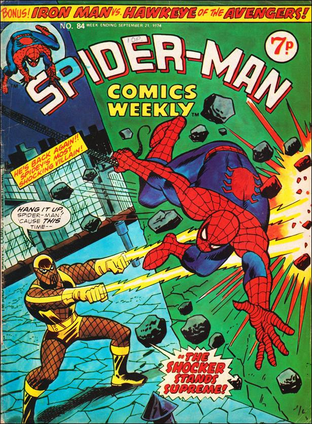 Spider-Man: Comics Weekly (UK) 84-A by Marvel UK