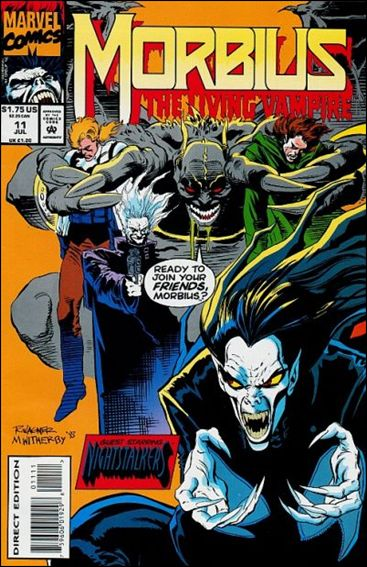 Morbius: The Living Vampire (1992) 11-A by Marvel