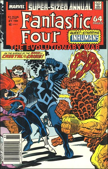 Fantastic Four Annual  21-A by Marvel