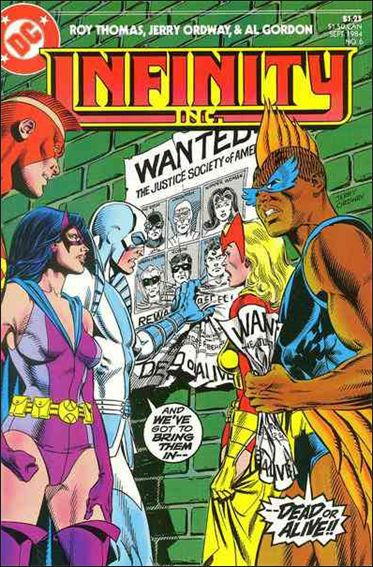 Infinity Inc. (1984) 6-A by DC