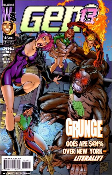 Gen13 (1995) 46-A by WildStorm