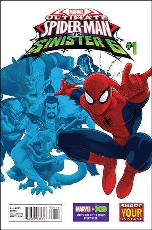 Marvel Universe Ultimate Spider-Man vs. the Sinister Six 1-A