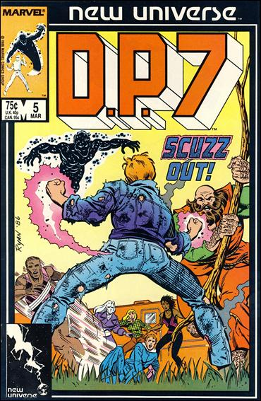 D.P.7 5-A by Marvel