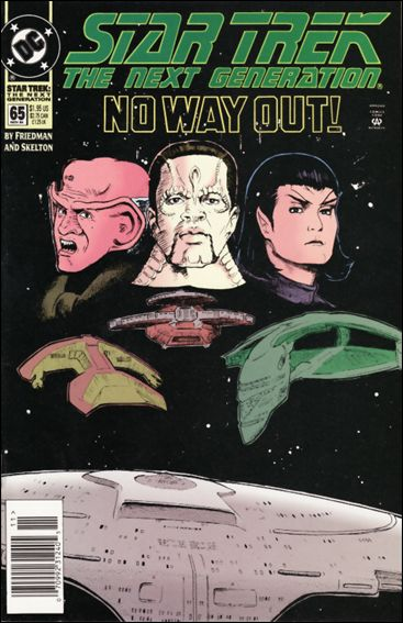 Star Trek: The Next Generation (1989) 65-A by DC