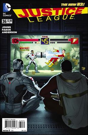Justice League (2011) 36-E