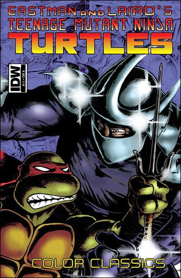 Teenage Mutant Ninja Turtles Color Classics  10-A by IDW