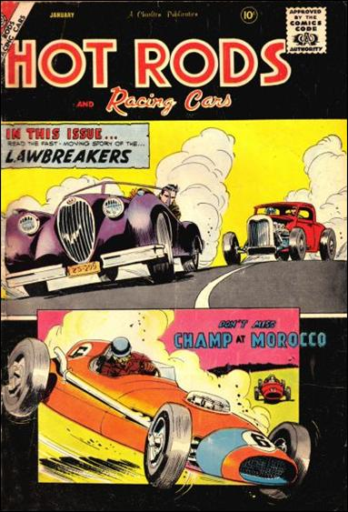 Hot Rods and Racing Cars 38-A by Charlton
