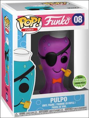POP! Funko Originals Pulpo (Purple) 2018 Spring Convention 1/1000