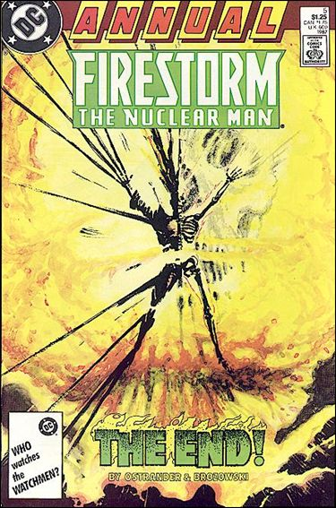 Firestorm Annual 5-A by DC
