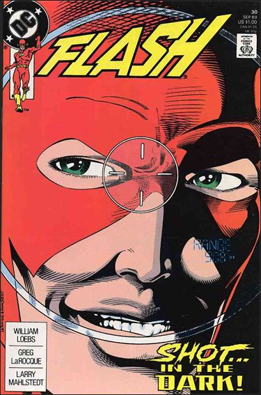 Flash (1987) 30-A by DC