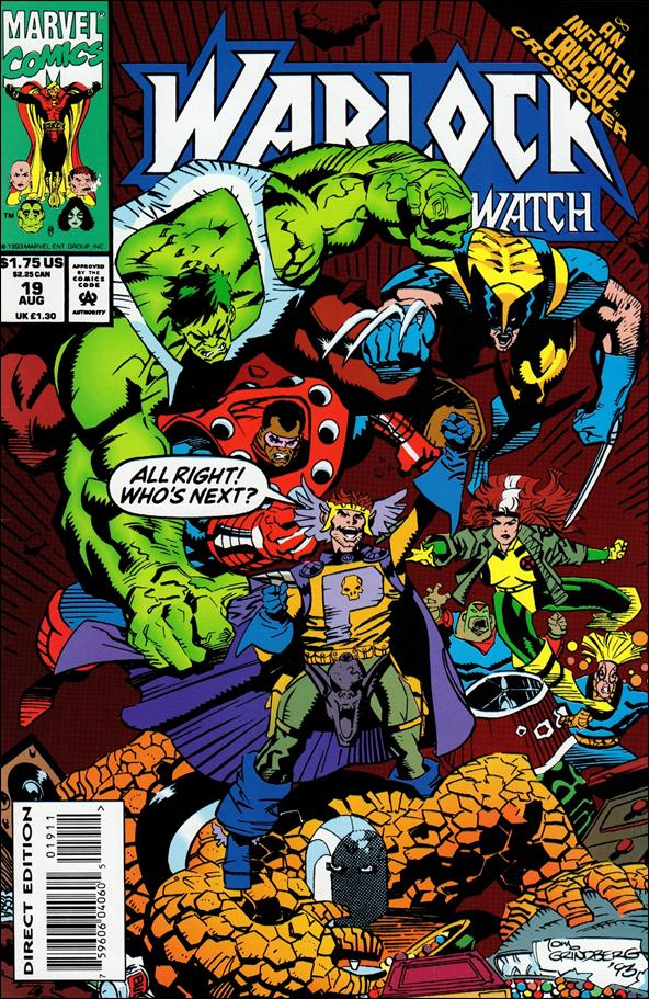 Warlock and the Infinity Watch 19-A by Marvel