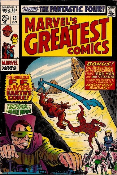 Marvel's Greatest Comics 23-A by Marvel