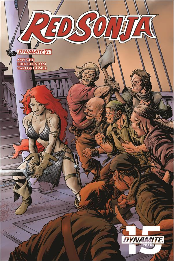 Red Sonja (2017) 25-A by Dynamite Entertainment