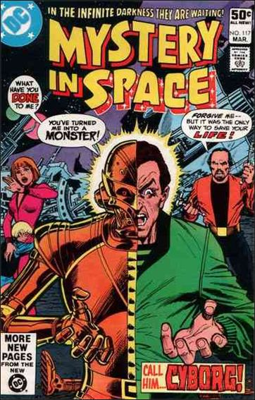 Mystery in Space (1951) 117-A by DC