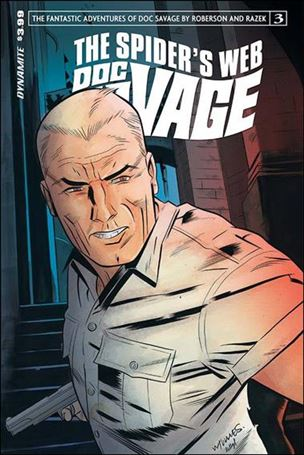 Doc Savage: The Spider's Web 3-A