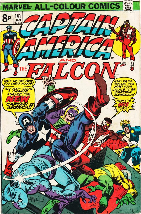 Captain America (1968) 181-B by Marvel
