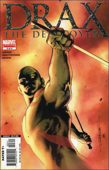 Drax the Destroyer 3-A by Marvel