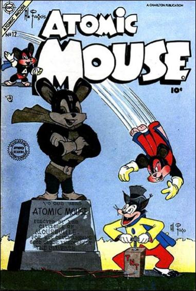Atomic Mouse (1953) 12-A by Charlton