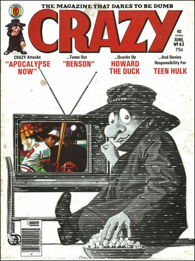 Crazy (1973/03) 63-A by Marvel