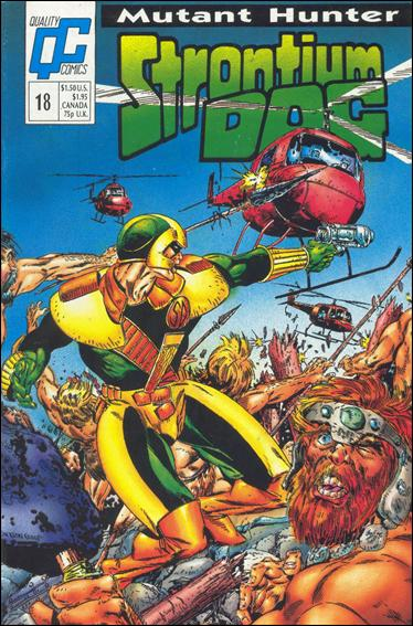 Strontium Dog (1987) 18-A by Quality Comics