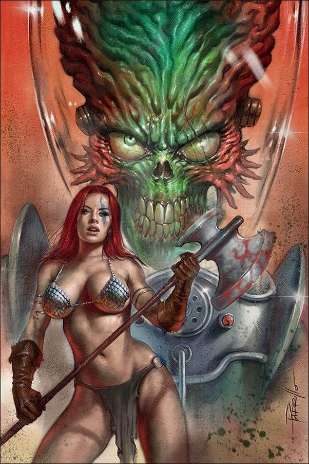 Mars Attacks Red Sonja 1-S by Dynamite Entertainment