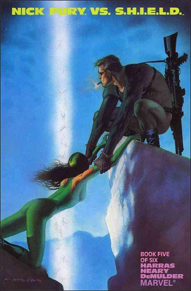 Nick Fury vs S.H.I.E.L.D. 5-A by Marvel
