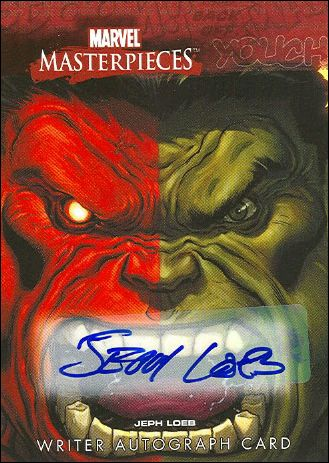 2008 Marvel Masterpieces: Series 3 (Writer Autograph Subset) JL-A by Upper Deck
