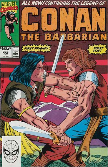 Conan the Barbarian (1970) 233-A by Marvel