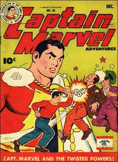 Captain Marvel Adventures 50-A by Fawcett