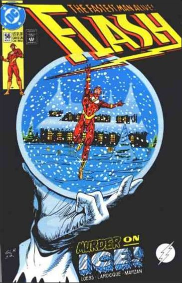 Flash (1987) 56-A by DC