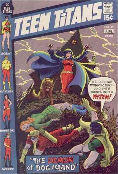 Teen Titans (1966) 34-A by DC