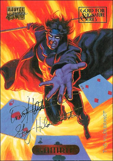1994 Marvel Masterpieces (Gold-Foil Signature Parallel Base Set) 41-A by Fleer