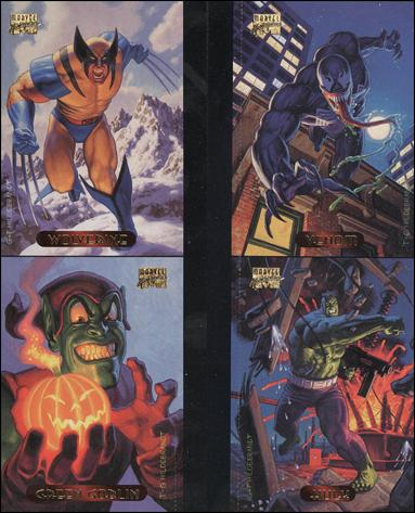 1994 Marvel Masterpieces (Promo) nn5-A by Fleer