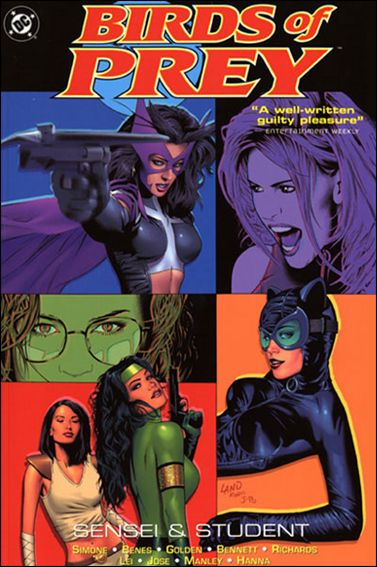 Birds of Prey 4-A by DC