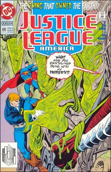 Justice League America 68-A by DC