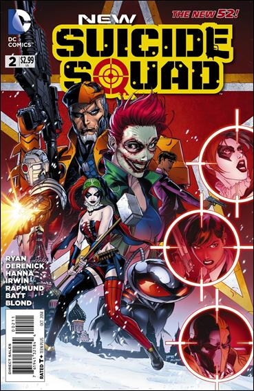 New Suicide Squad 2-A by DC