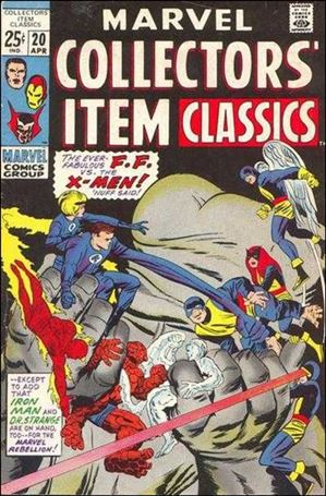 Marvel Collectors' Item Classics 20-A