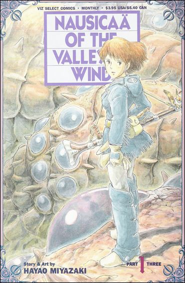 Nausicaä of the Valley of Wind Part 3 1-A by Viz