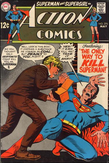 Action Comics (1938) 376-A by DC
