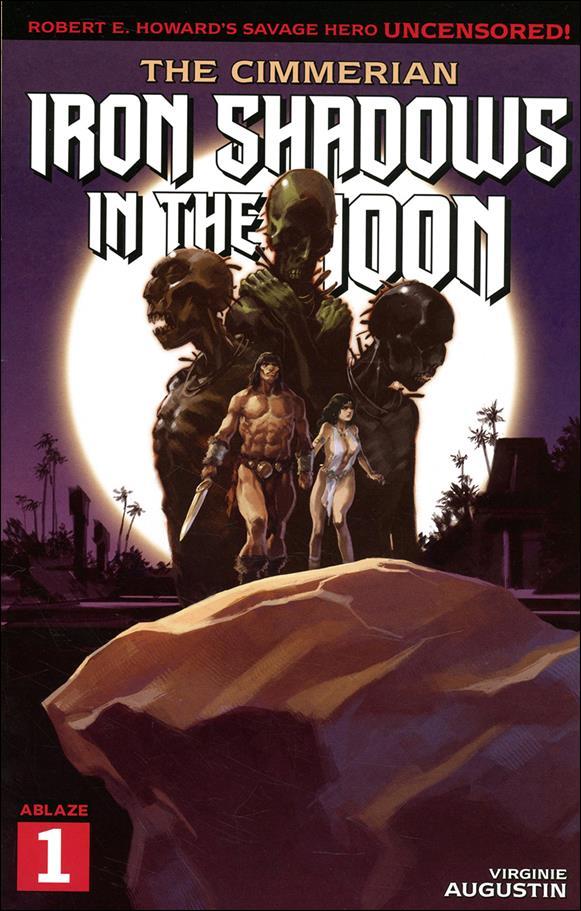 Cimmerian: Iron Shadows in the Moon 1-B by Ablaze