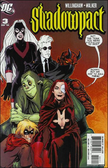 Shadowpact 3-A by DC