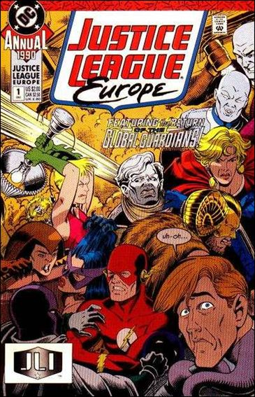 Justice League Europe Annual 1-A by DC