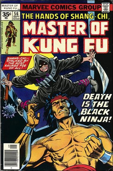 Master of Kung Fu 56-B by Marvel