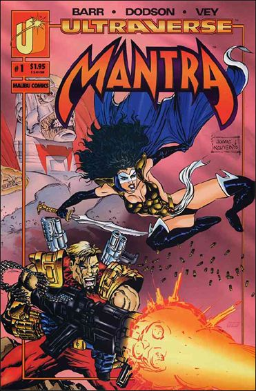Mantra (1993) 1-B by Malibu