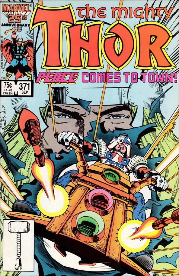 Thor (1966) 371-A by Marvel