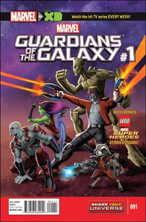 Marvel Universe Guardians of the Galaxy (2015/12) 1-A