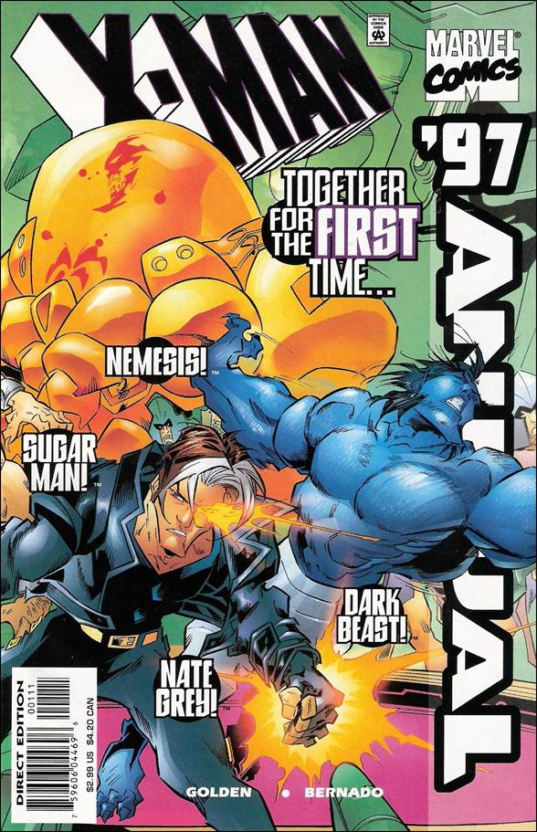 X-Man Annual 1997-A by Marvel
