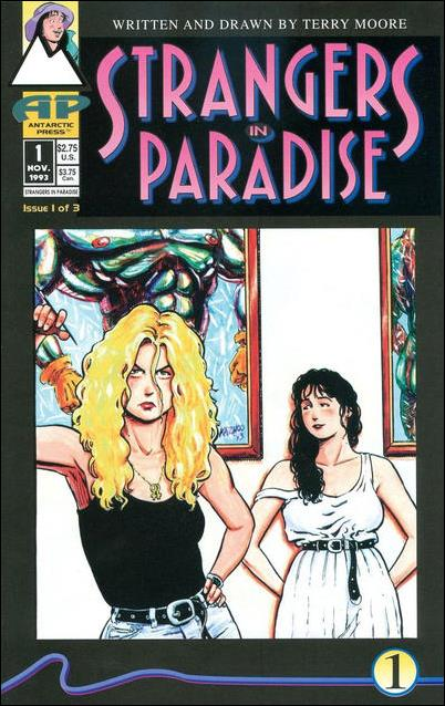 Strangers in Paradise (1993) 1-B by Antarctic Press