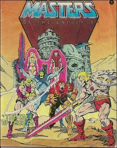 Masters of the Universe (1981) 2.5-A by Mattel