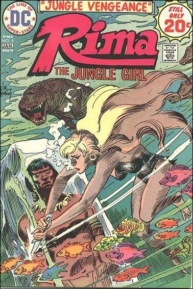 Rima Jungle Girl 5-A by DC